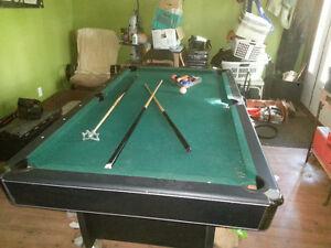 Table de pool (livré)