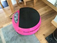 Vibration exercise plate for sale £50