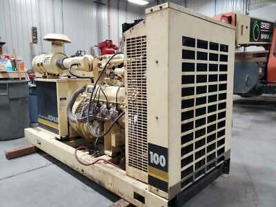 100 Kw Natural Gas Generator Kohler 480 Volt 12 Lead 100rz282 768 Hours 100rz282