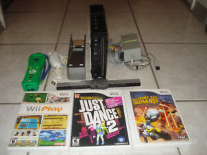 Black Edition Wii Complete w/3500+ Games!
