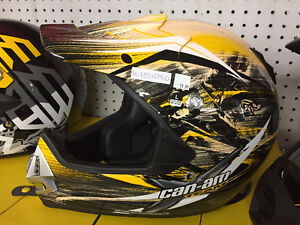 Brand New Can Am ATV / Dirt Bike Helmets