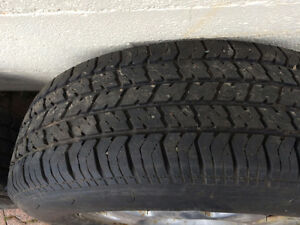 5 tires on rims 205 70 R 15 - now reduced by $200 St. John's Newfoundland image 5