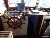Live Aboard Yacht while Restoration in Progress!