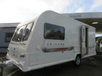 2011 BAILEY UNICORN SEVILLE 2 BERTH TOURING CARAVAN WITH END WASHROOM..........