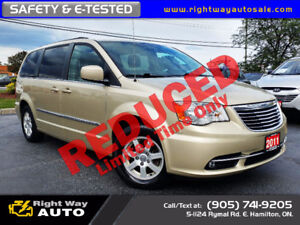2011 Chrysler Town & Country Touring | 197Km | SAFETY & E-TESTED
