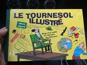 Livre Tournesol illustré albert algoud Tintin casterman