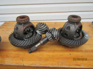 1999 dodge ram 3/4 rear end front end and axles 354 gears
