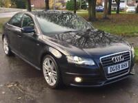 AUDI A4 2.0 TDI S LINE AUTOMATIC,HPI CLEAR,1 OWNER,LEATHER,CRUISE,XENON,P/SENSOR