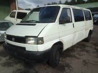 Vw transporter t4 2.5tdi breaking