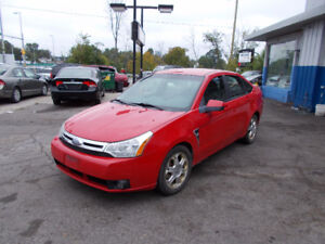 2008 Ford Focus SES MANUAL SAFETY + 1 YEAR WARRANTY