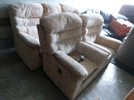 Sofa - Extra Comfy 8 Seater G Plan Sofa Set. The 3 and 2 Single Chairs