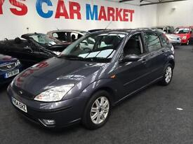 2005 FORD FOCUS 1.8 TDi Ghia From GBP1650+Retail package.