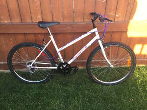 "Supercycle mountain bike, 26"" wheel size"