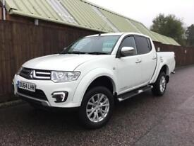 Mitsubishi L200 Barbarian..ONLY 25,000..WHITE..1 OWNER..SUPERB.