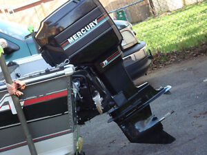 4 REPAIR OR PARTS ONE 1990 75HP MERCURY OUTBOARD MOTOR