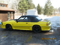 1988 Ford Mustang GT 450 HP Convertible