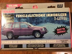 Brand New CLUB Vehicle Electronic Immoblizer 1-Level