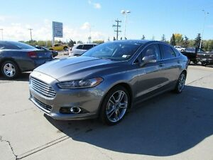 2014 Ford Fusion TitaniumAWD, RED LEATHER, SUNROOF