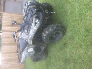 2013 Yamaha grizzly atv in mint condition.