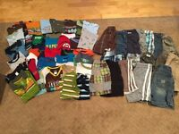 Huge lot boy's summer clothes size 5 - 58 pieced