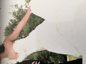 Robe de mariée - grandeur 4