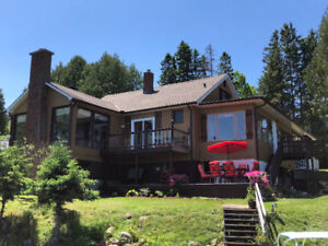 SPECIAL Chalet à louer/ Cottage for rent in N-D-P QC