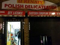 U RENATY POLISH SHOP SITUATED IN A PARADE FOR SALE ,REF: RB222