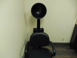 Salon furniture for sale - dryers, mirrors, mobile cabinet