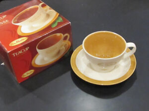 Tim Horton Tea Cup and Saucer with box