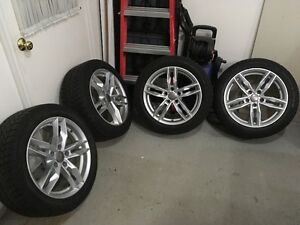 Audi A4 OEM Rims and Winter Tires