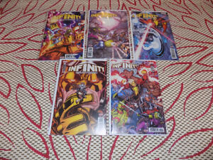 INFINITY COUNTDOWN #1 - 5 COMPLETE SET MARVEL COMICS FIRST PRINT