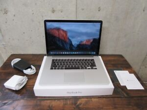 """Fastest Macbook Retina Pro 15"""" Video Card Top of The Line"""