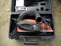 PLANER Black & Decker KW82 electric hand held planer, 900w, little used £30