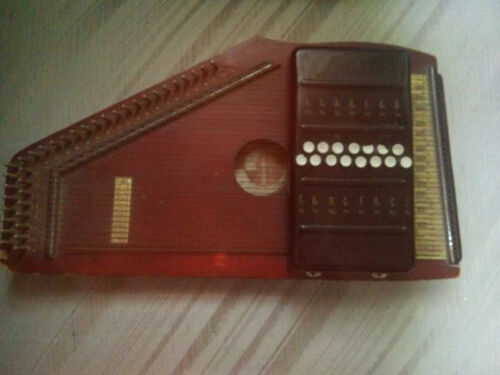 Antique Vintage Zither 1960