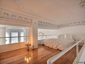 Ghetto mc gill , condo loft avec architecture exceptionnelle