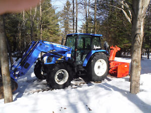 Tracteur New Holland 2009