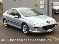 2007 PEUGEOT 407 2.0 HDi 136 SE colour sat nav new dual mass and clutch