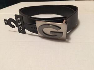 NEW Guess Black Belt Size 38-42""