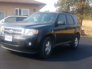 2011 Black Ford Escape
