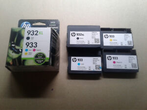 HP 932 XL ink cartridges and  printer*