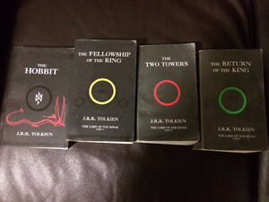 Lord of the Rings Series + The Hobbit (4 books)