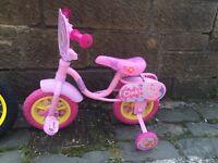 """Peppa pig 10"""" kids bike"""