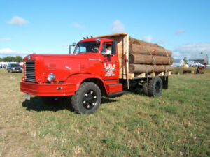 1955 FWD Log Truck - Mint Condition