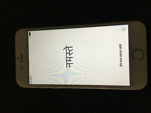 SILVER IPHONE 6 16GB LOCKED TO TELUS FOR SALE!!!