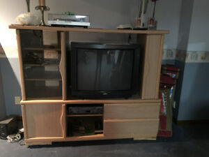 """36"""" Sony TV and Entertainment Unit"""