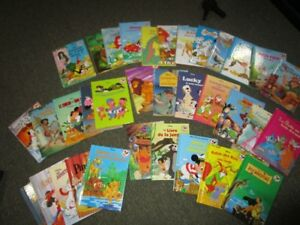 Disney French books, Hard Covers,