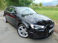 2015 Audi A3 1.4 TFSI 150 S Line 3dr Rear Sensors! Privacy Glass! 3 door Hat...