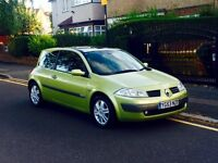 Renault Megane 1.6, Long MOT, Service History, Low Mileage, Cheap 4 Insurance,Excellent Reliable Car