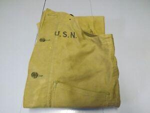 WWII Vintage USN Deck Pants Overalls