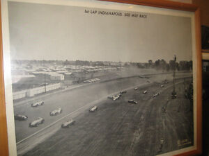 1958 INDIANAPOLIS 500 CAR RACE PICTURE Kitchener / Waterloo Kitchener Area image 1